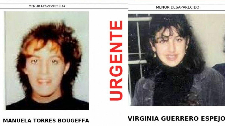Cartel de la desaparición de Virginia y Manuela. (Sos Desaparecidos)