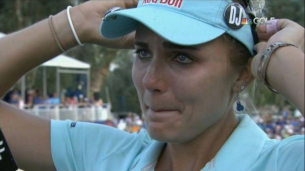 Foto: La estadounidense Lexy Thompson. (Foto de 'Golf Channel')