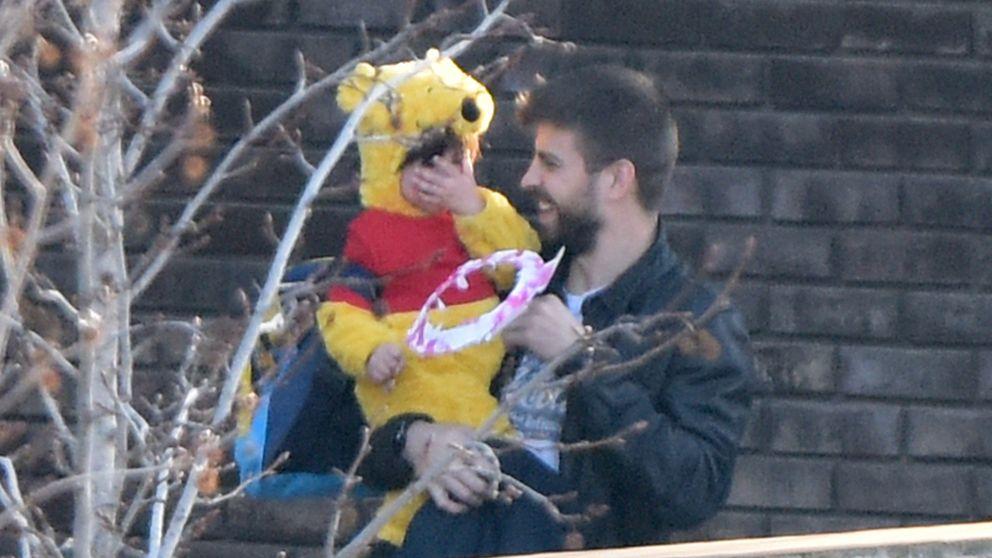 A Piqué se le cae la baba con un Milan disfrazado de Winnie The Pooh