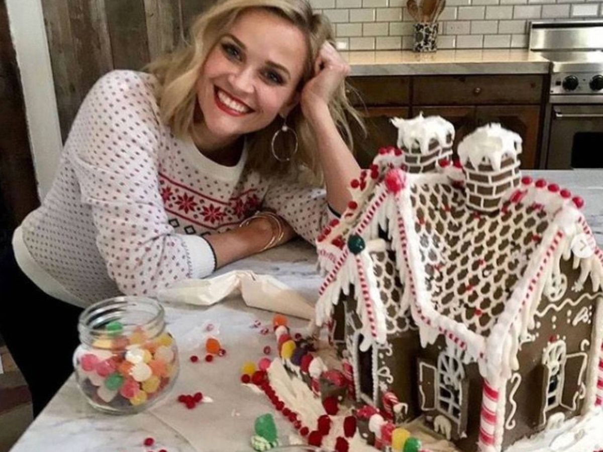 Foto: Reese Witherspoon nos conquista cada año con su dulce casita. (Instagram @reesewitherspoon)