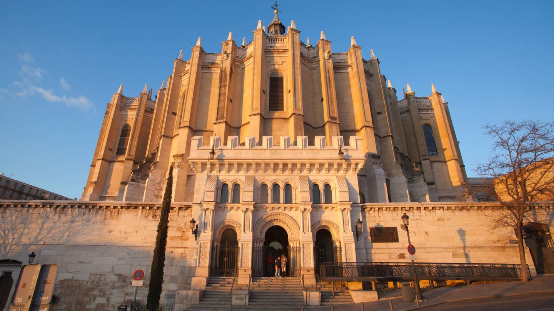 Cripta de la Almudena. (E. Villarino)