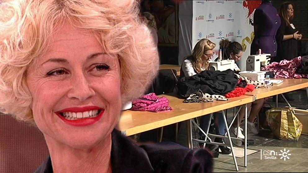 Esther Arroyo conducirá 'Aguja flamenca', el 'Maestros de la costura' de Canal Sur