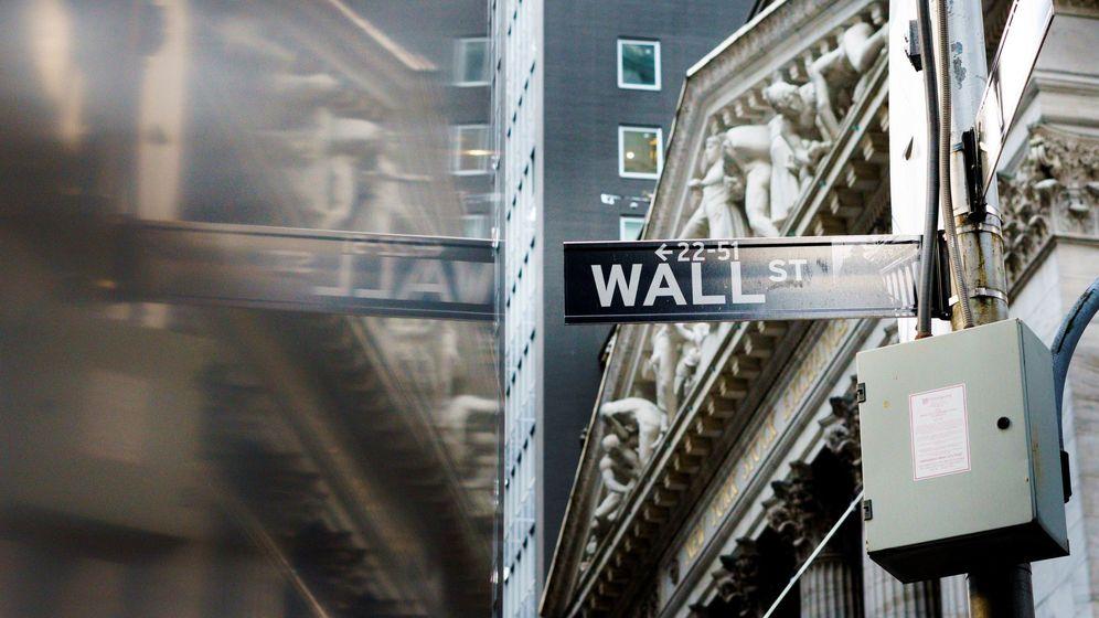 Foto: Imagen del cartel de la Bolsa de Nueva York (EEUU). (EFE)