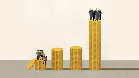 La clase media sucumbe ante el avance de las rentas altas y bajas