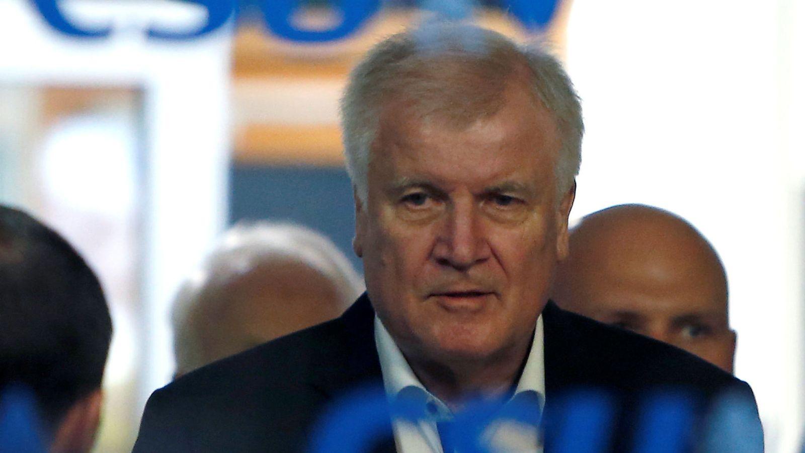 Foto: El ya exministro del Interior alemán, Horst Seehofer. (Reuters)