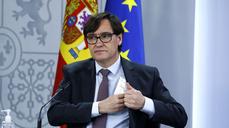 El ministro de Sanidad, Salvador Illa. (EFE)