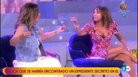 Laura Fa se va llorando del plató de tras un tremendo enganchón con Patiño