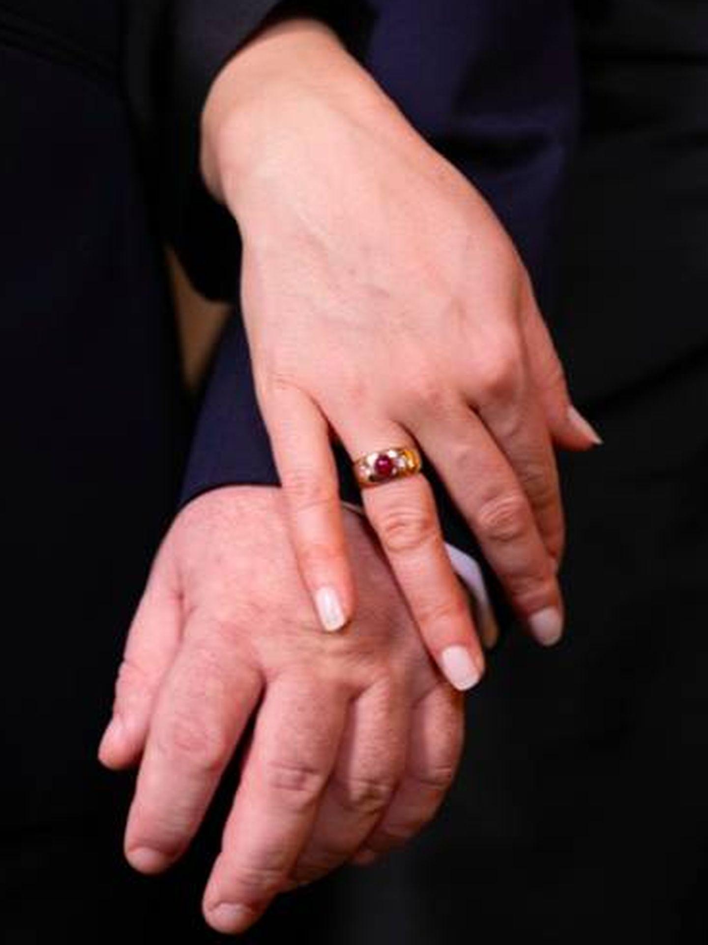 El anillo de compromiso. (Casa Imperial Rusa)