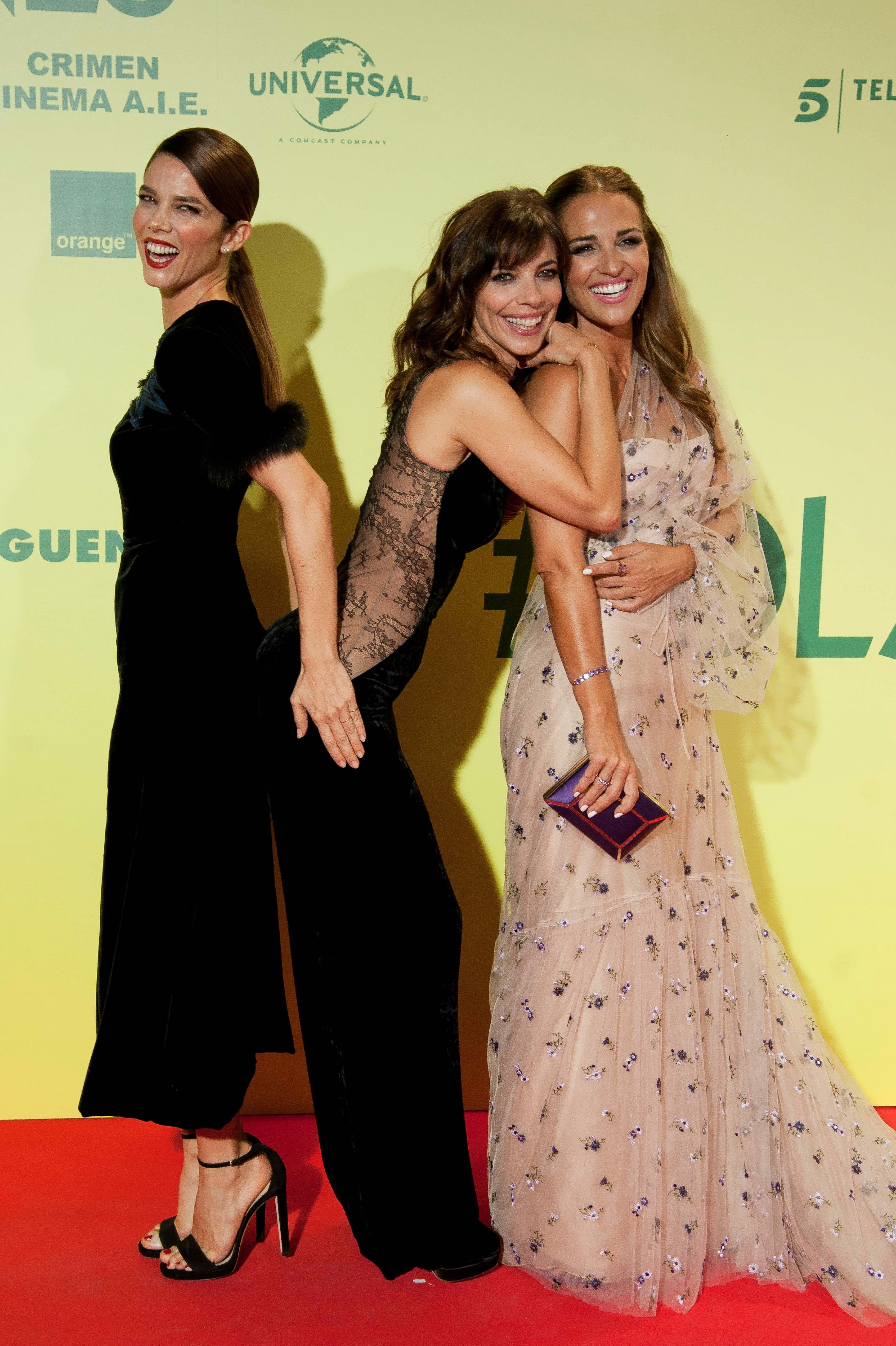 Juana Acosta, Maribel Acosta y Paula Echevarría. (Limited Pictures)