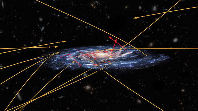 Tres científicos encuentran en la Vía Láctea estrellas que pueden proceder de otra galaxia