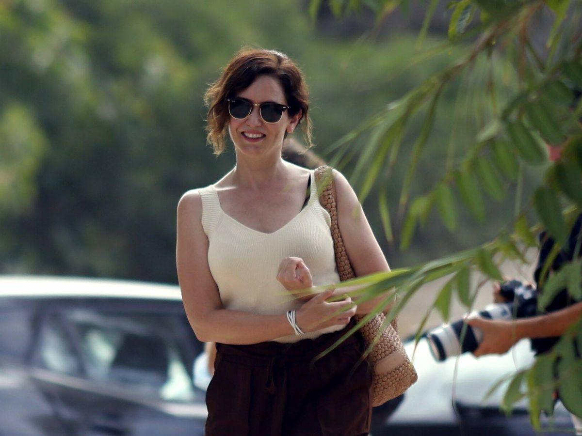 Foto:  Isabel Diaz Ayuso de vacaciones en Ibiza. (Cordon Press)