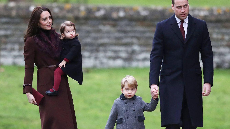 Foto: La familia de los duques de Cambridge (Gtres)