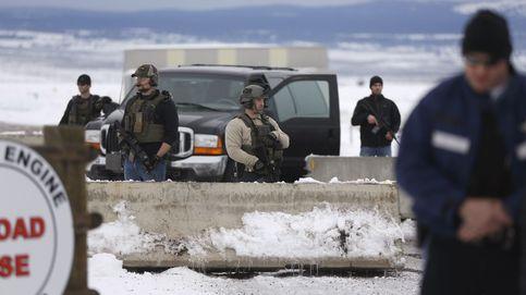 El FBI lanza una operación contra los milicianos okupas y mata a uno