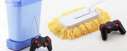 El sueño de todo 'geek': limpiar la casa desde el sofá