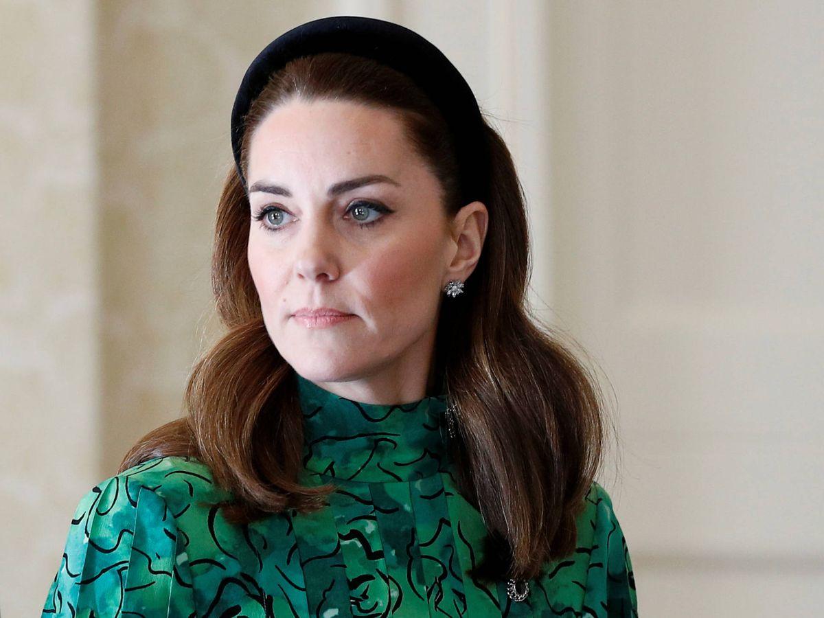 Foto: La duquesa de Cambridge, en Irlanda. (Getty)