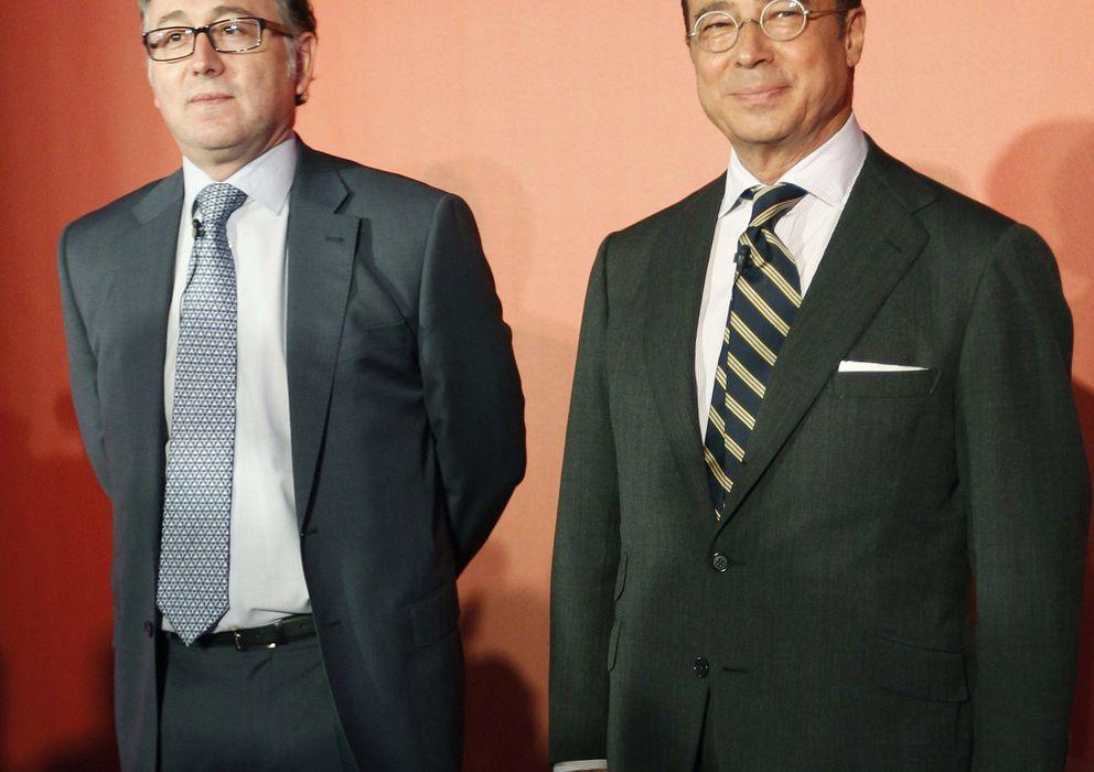 Foto: Luis Gallego (izda) y Antonio Vázquez (dcha) (EFE)