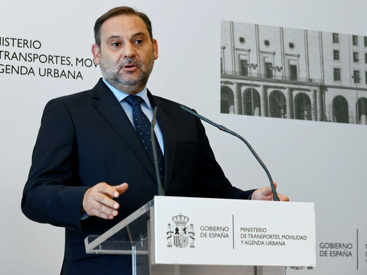 Foto: El exministro de Transportes José Luis Ábalos. (EFE)