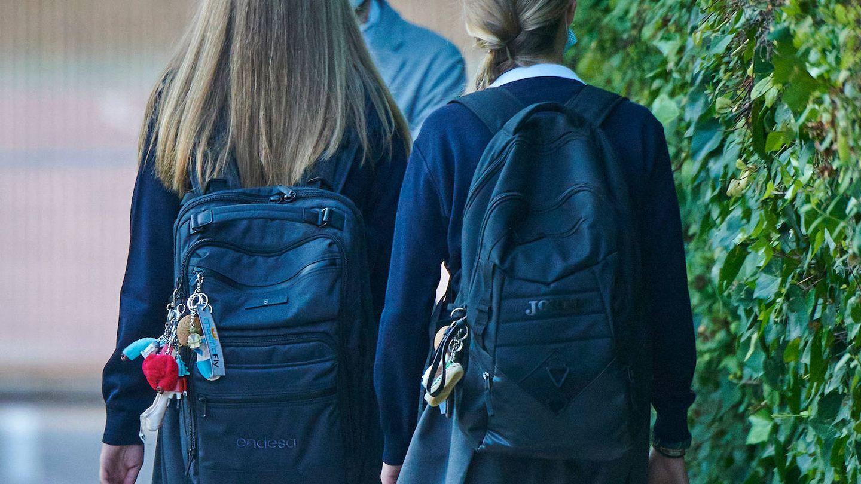 Las mochilas de Leonor y Sofía. (Limited Pictures)