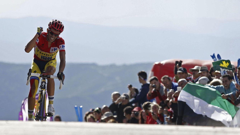 Foto: Alberto Contador abre de par en par las puertas a una próxima retirada.