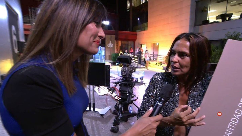 Nagore Robles y Olga Moreno, en 'Supervivientes'. (Mediaset España)