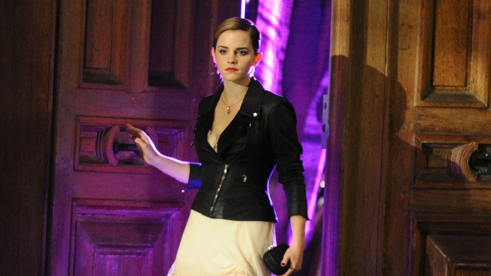 Foto: Emma Watson, en una imagen publicitaria para la firma Lancome