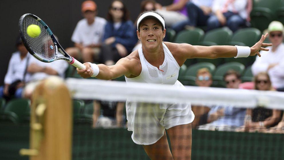 Garbiñe debuta en Wimbledon con triunfo ante Ekaterina Alexandrova