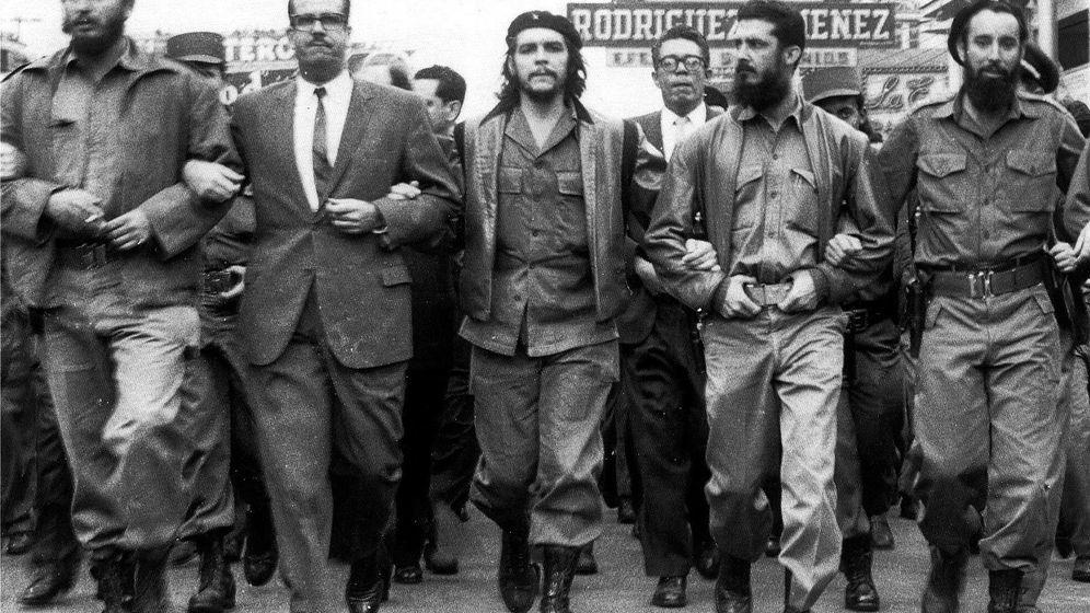 Foto: Fidel Castro, el presidente Osvaldo Dorticós Torrado y el Che Guevara en una imagen tras la revolución.