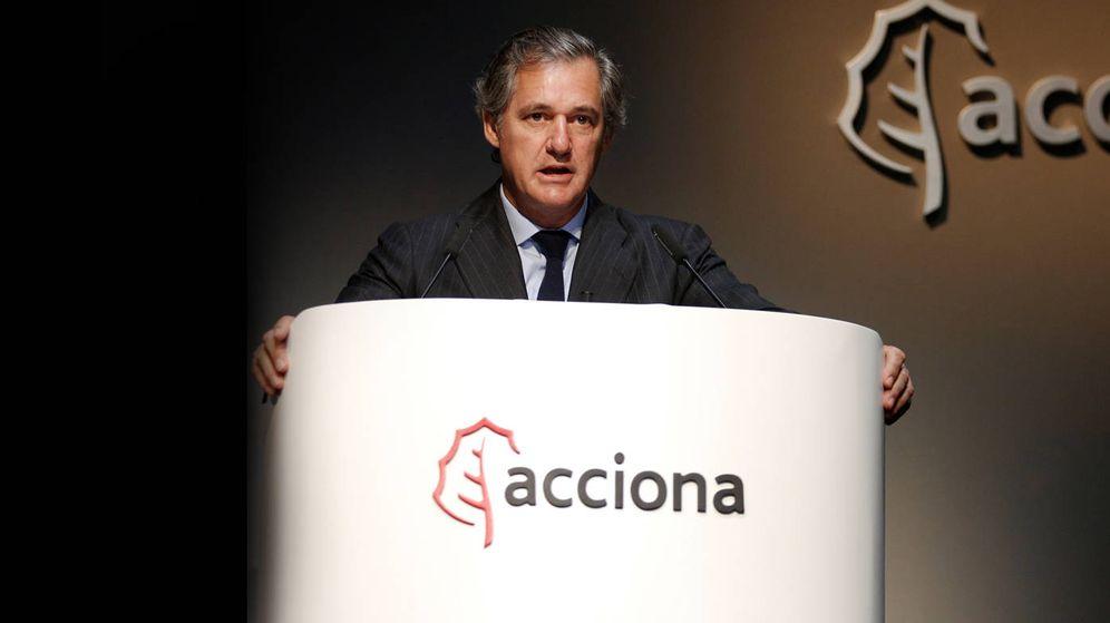 Foto: El presidente de Acciona, José Manuel Entrecanales, en un acto de la compañía. (EFE)