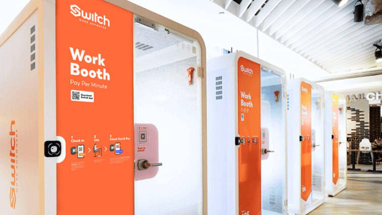 Singapur inventa las cabinas para teletrabajar... si no quieres hacerlo en casa