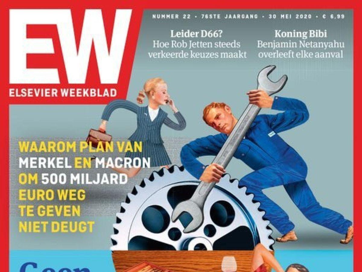 """Foto: Prestigioso semanario holandés acusa al sur de """"vago"""" mantenido por el norte."""