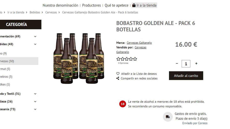 Imagen de la plataforma Correos Market.
