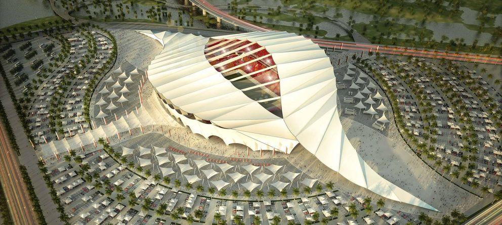Foto: Estadio Lusail Iconic, uno de los escenarios del Mundial de Qatar 2022.