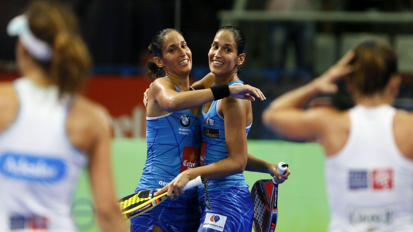 Foto: Las hermanas Sánchez Alayeto han ganado ya cinco torneos esta temporada. (EFE)