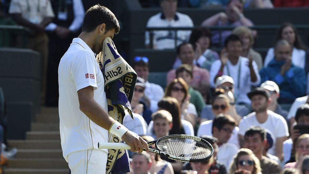 Foto: Djokovic, contra Querrey (EFE)