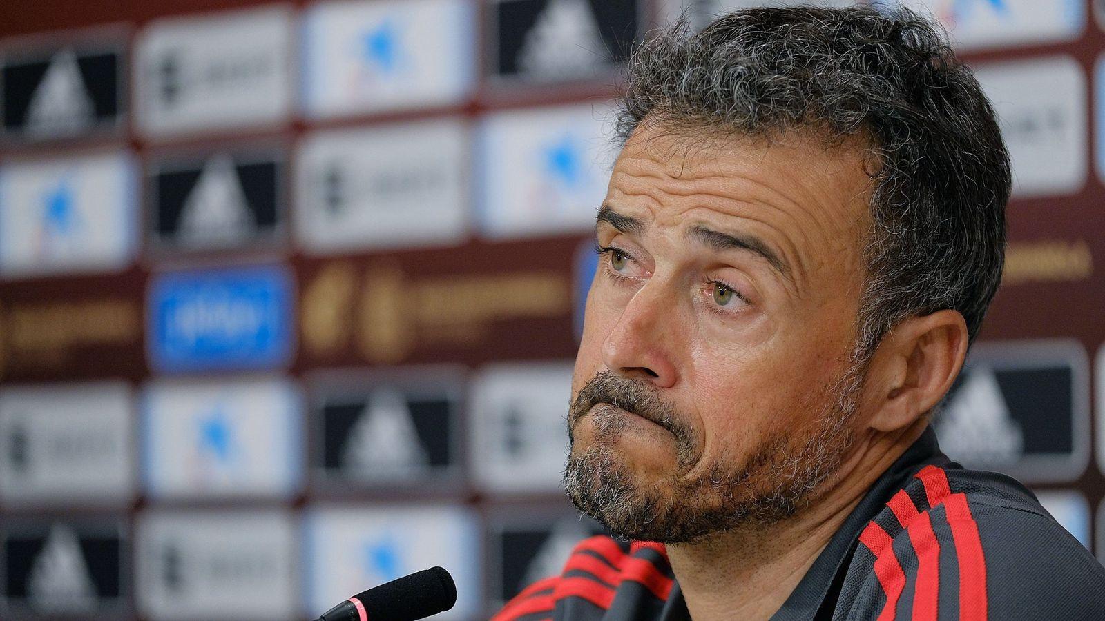 Foto: Luis Enrique, en rueda de prensa. (EFE)