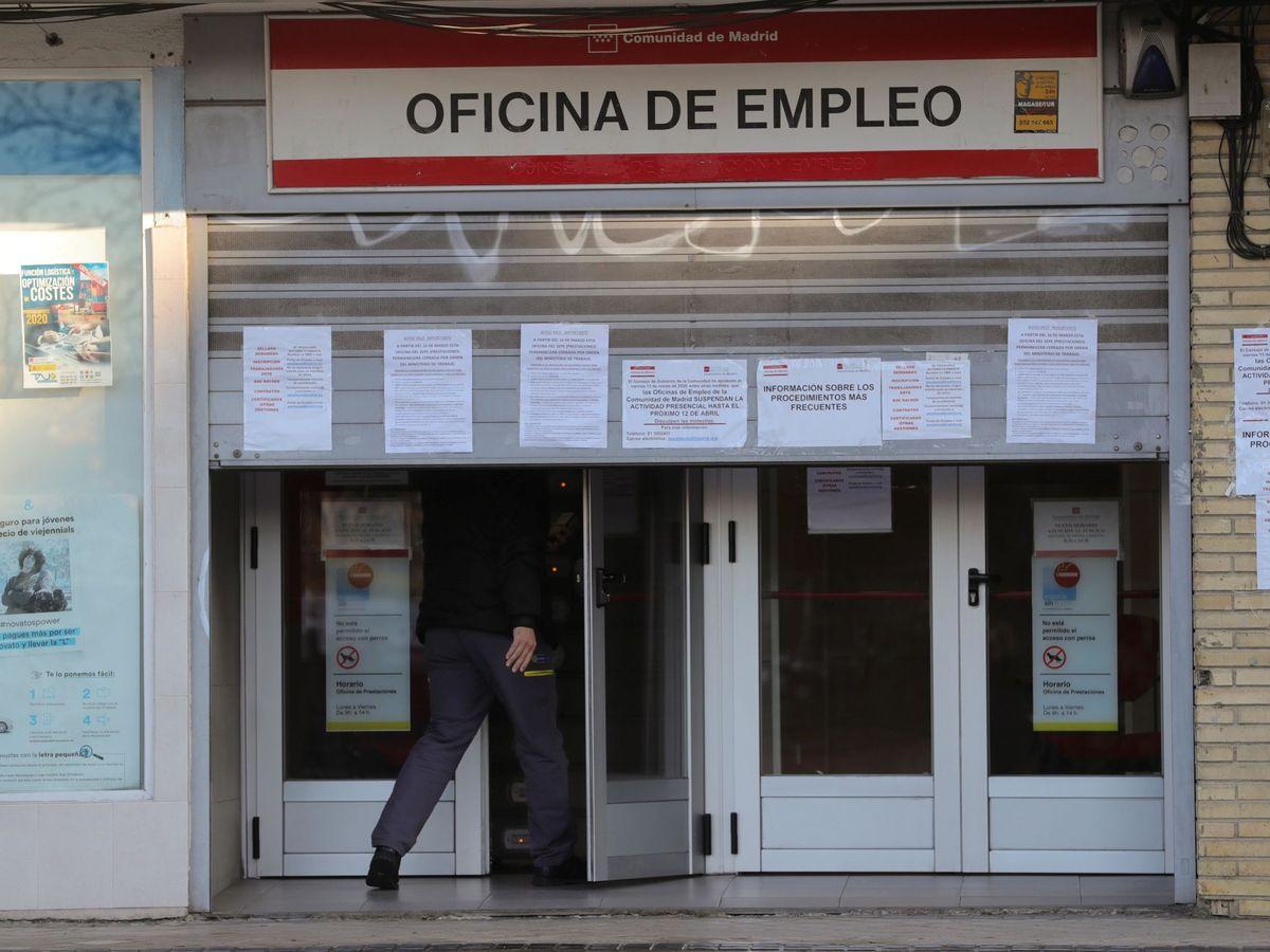 Foto: Oficina de Empleo en Madrid (EFE)