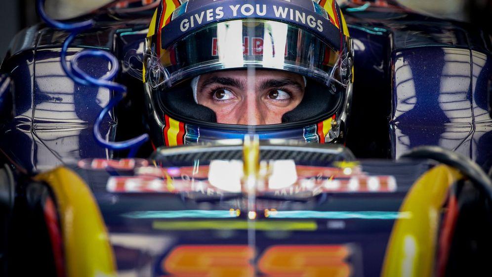 Foto: Carlos Sainz en su STR11 durante el pasado GP de Malasia.