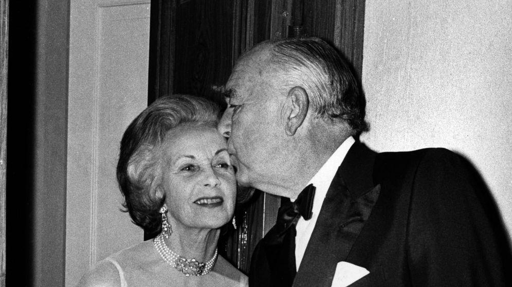 Foto: El príncipe Bertil y la princesa Lilian, en una imagen de archivo. (CP)