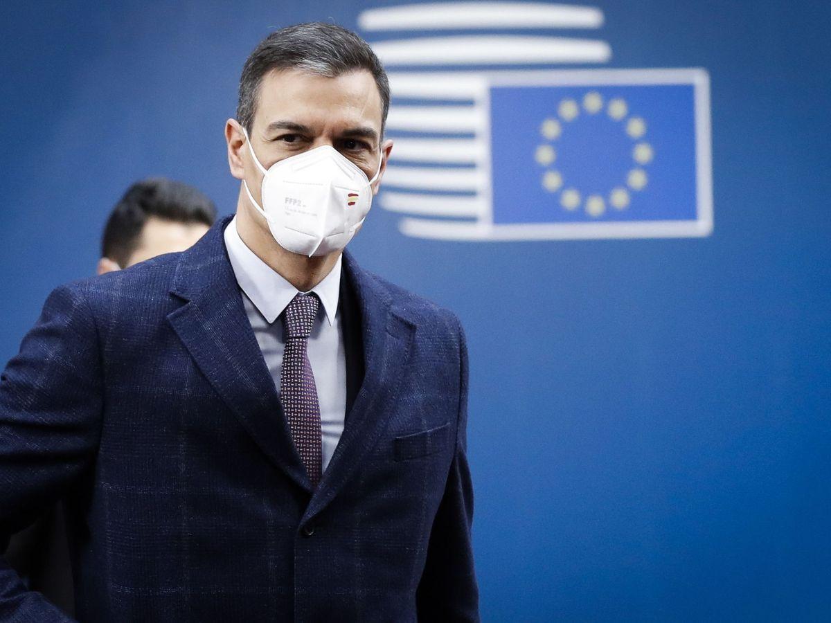 Foto: El presidente del Gobierno, Pedro Sánchez, en el Consejo Europeo. (Reuters)