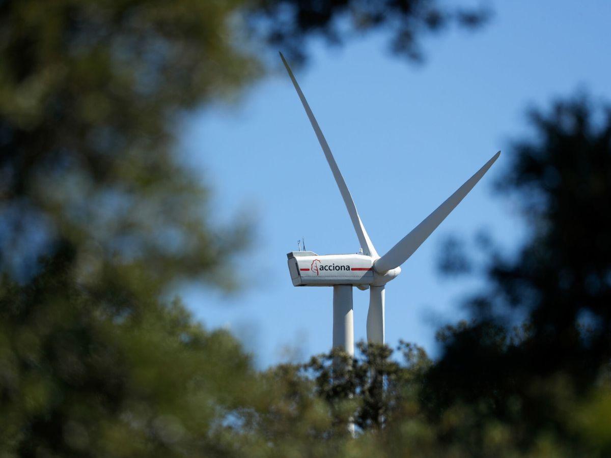 Foto: Una turbina de Acciona. (Reuters)