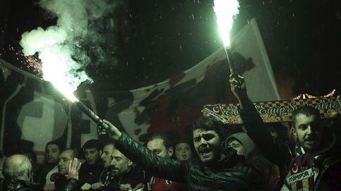 Manifestación en Estambul contra los atentados