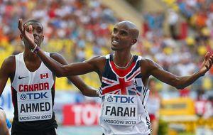 Mo Farah repite en el Mundial su doblete olímpico del fondo