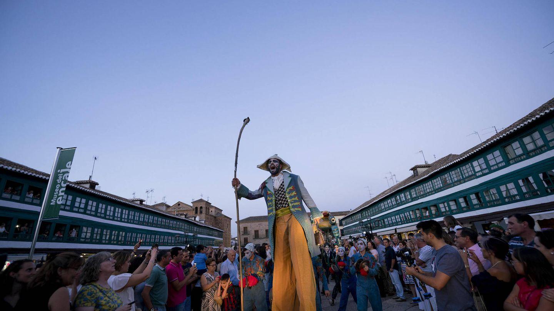 El festival de teatro en acción este mismo año. (Foto: J. Alberto Puertas)