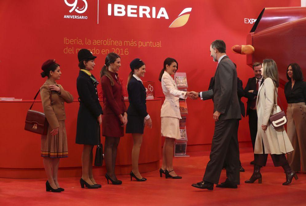 Foto: Iberia es una de las compañías en la encrucijada ante un Brexit duro. (EFE)