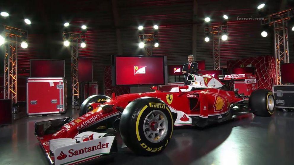 Ferrari huye del conservadurismo y va al ataque (y con un Marlboro) en 2016