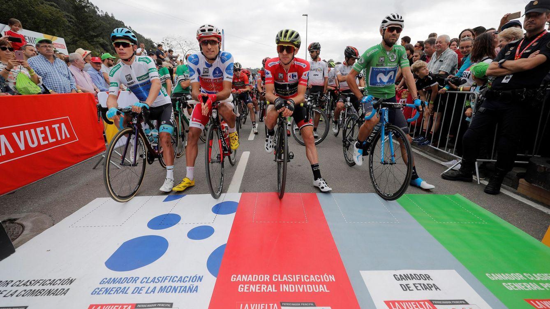 Foto: Loterías y Apuestas del Estado paga más de 700.000 euros por patrocinar el jersey de la montaña. (EFE)
