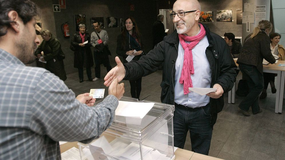 Foto: El nombramiento de José Canedo (en la imagen) a dedo como número uno de Ciudadanos en A Coruña ha motivado la dimisión de parte de la directiva del partido en esa ciudad (EFE)