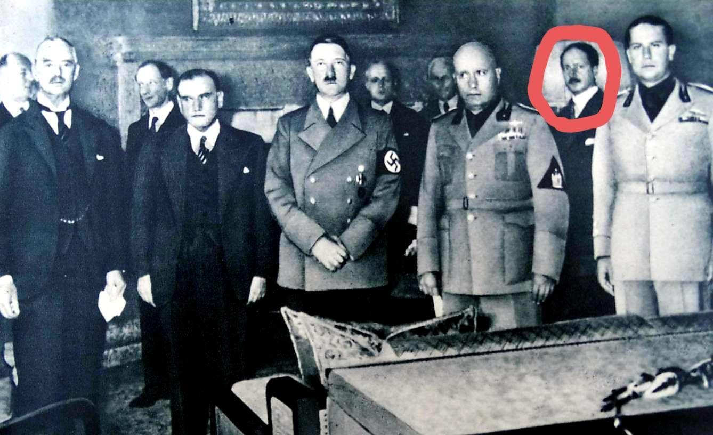 Foto: Pacto de Múnich, 1938