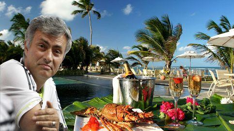 Mourinho disfruta de sus días en el paro en un resort de lujo de Brasil