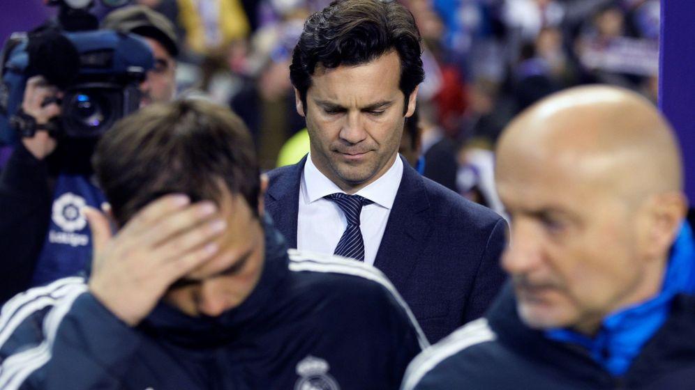Foto: El Real Valladolid-Real Madrid del domingo ha sido el último partido de Solari como entrenador madridista. (EFE)